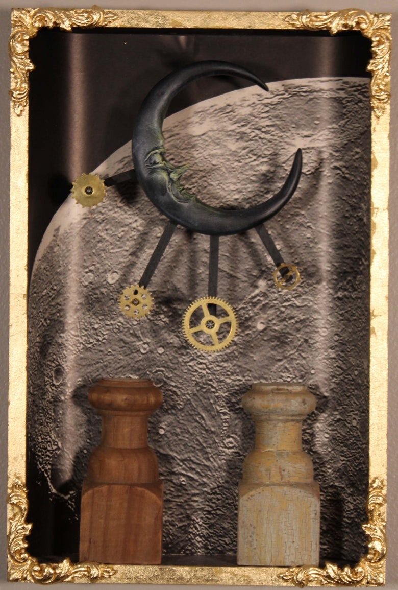 Image of The Moon - the Tarot series
