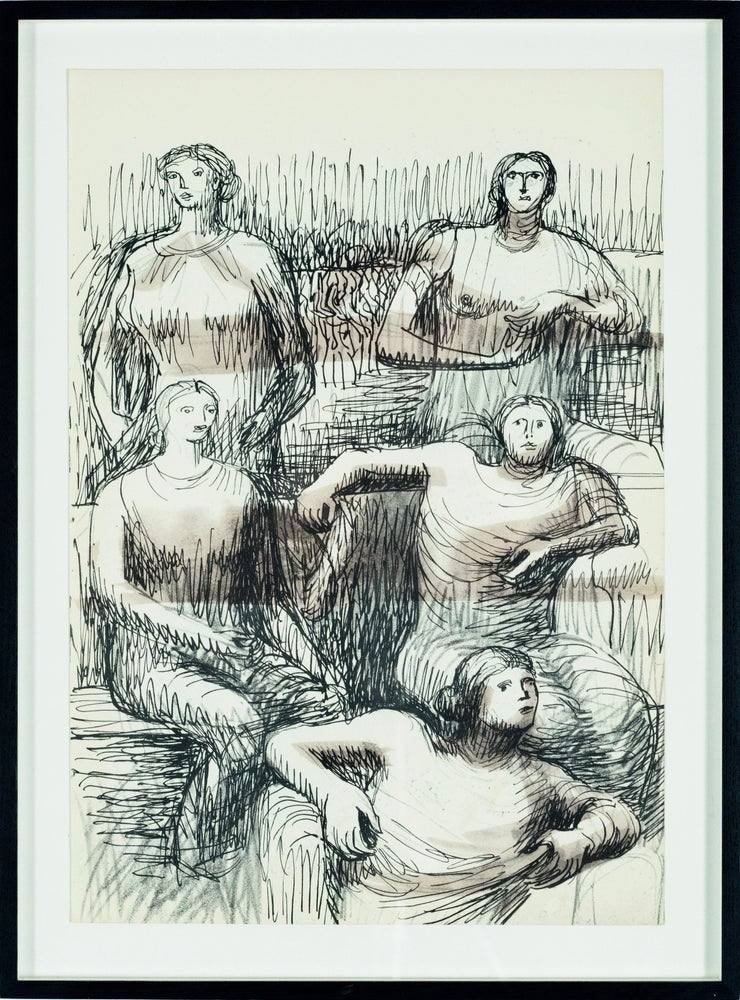 Image of MOORE COLLECTION / five figures 27/009