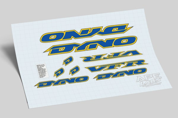 Image of Dyno VFR 1994 decals