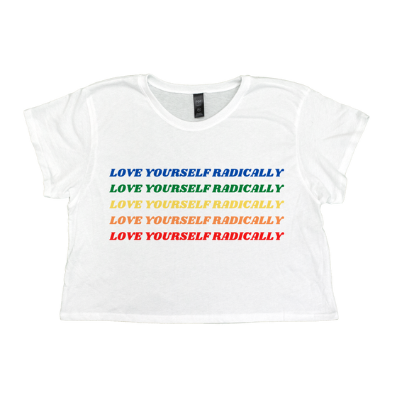 Image of Love Yourself Radically Crop Top