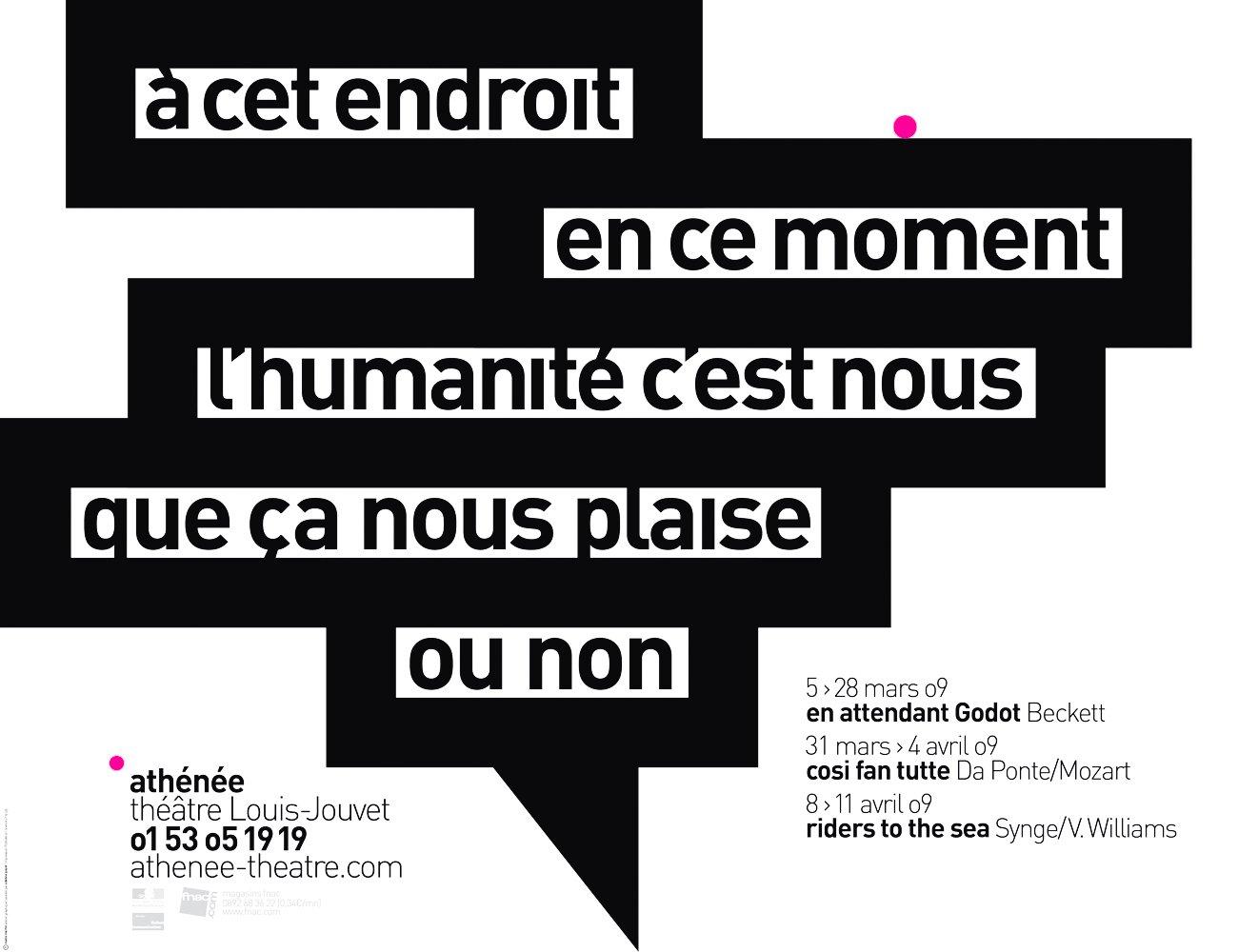 Image of Théâtre de l'Athénée - poster #4
