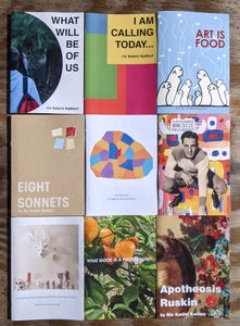 Image of Pack of Nine Zines