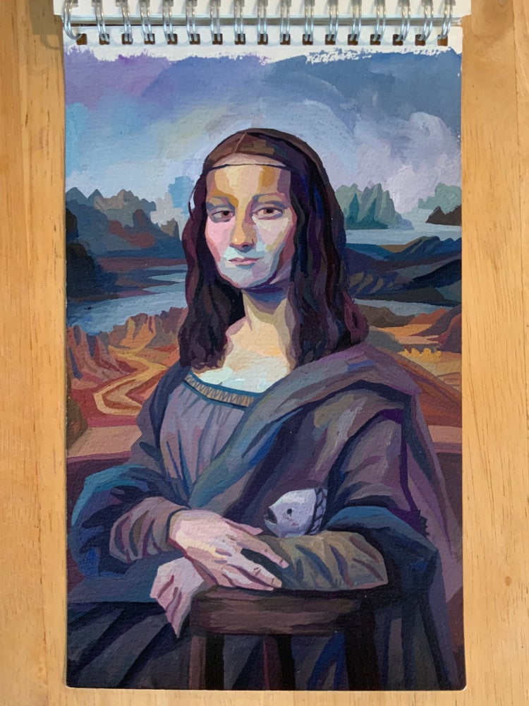 Image of Mona Lisa Study Full
