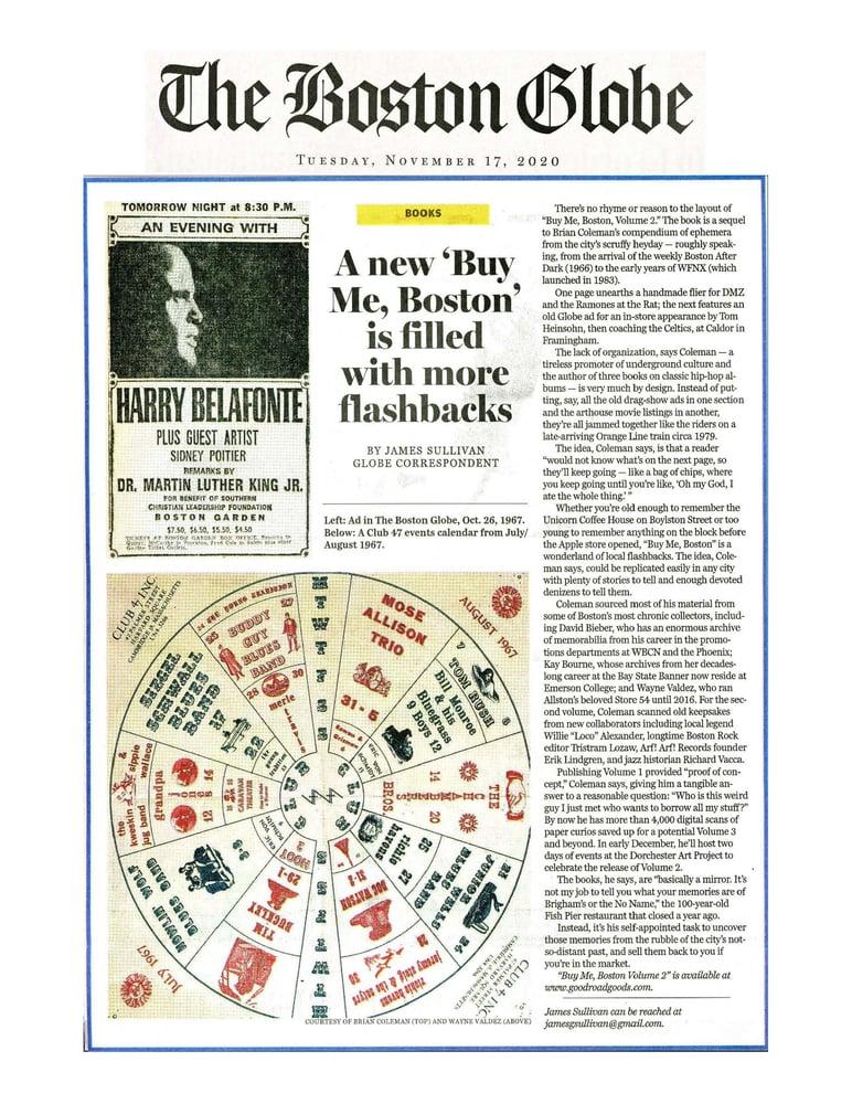 "Image of ""Buy Me, Boston"" TWO BOOK BUNDLE [VOLS 1 & 2]"