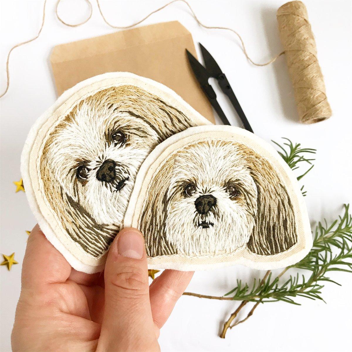 Custom Pet Portrait Patch