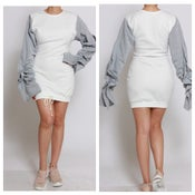 Image of Sweater dress grey