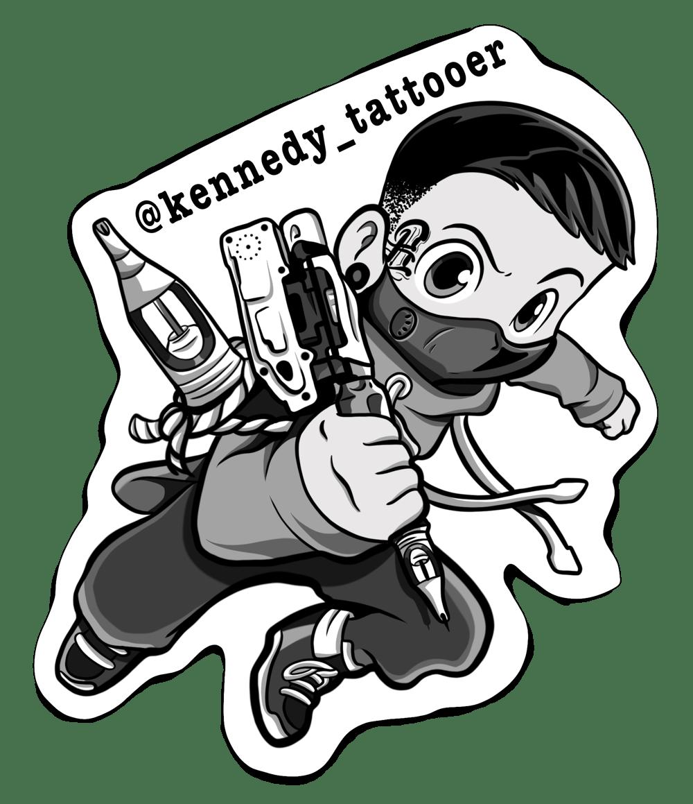 Image of Kennedy_Tattooer Sticker