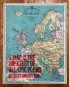 A Map is the Greatest of All Epic Poems
