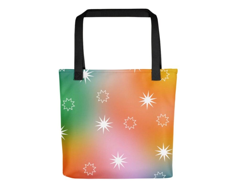 Image of Fairy Dust \ Rainbow Roadtrip print bag