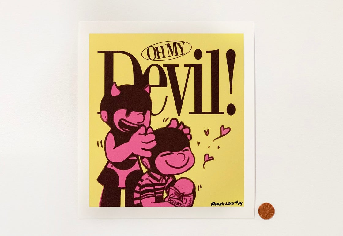 "Image of ""Oh My Devil"" Print"