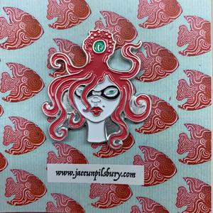 Image of OCTO-girl #2  pin