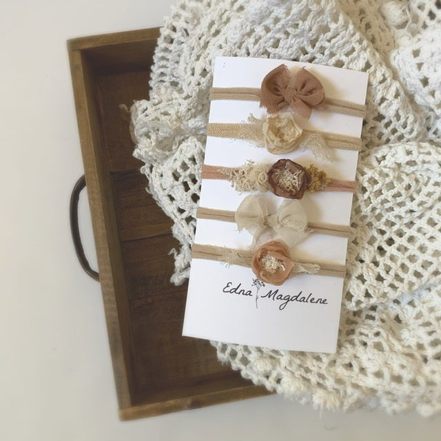 Image of Rustic Headband Collection