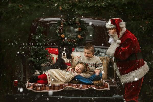 Image of Christmas Truck Portraits