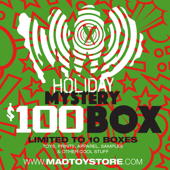 Image of MAD HOLIDAY Mystery $100 BOX (2020)