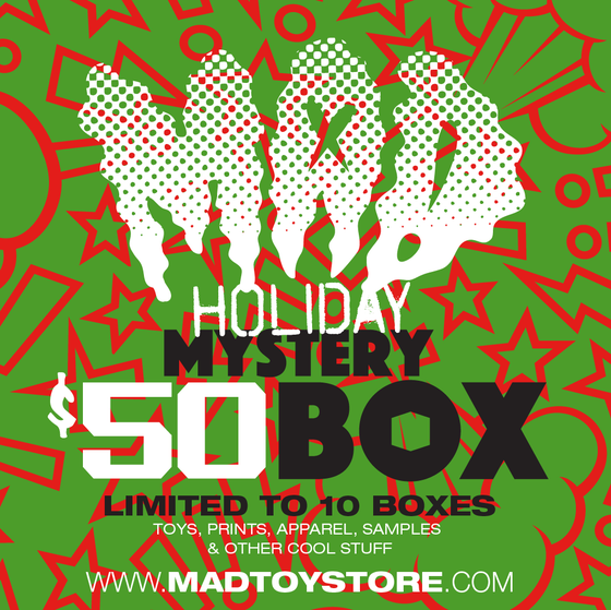 Image of MAD HOLIDAY Mystery $50 BOX (2020)