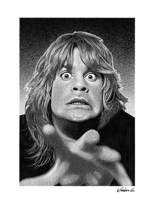 Image of OZZY OSBOURNE poster print