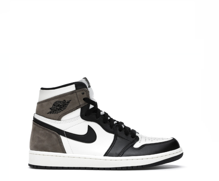Image of NIKE JORDAN 1 RETRO HIGH DARK MOCHA 555088-105