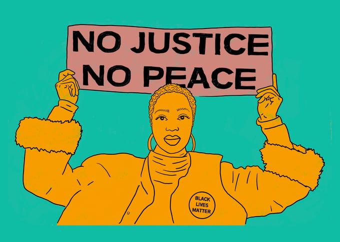 Image of No Justice No Peace