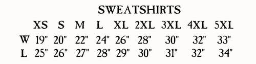 Image of KRAMPUS ROOF SWEATSHIRT