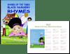 Rhymes of the Times: Black Nursery Rhymes w/ Pretty Little Black Girl Calendar