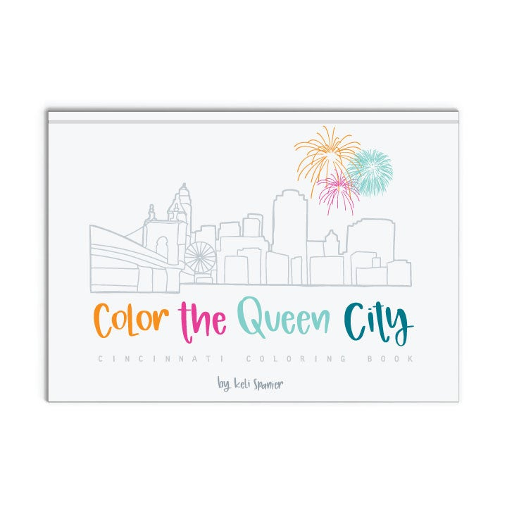 Image of Color the Queen City Coloring Book
