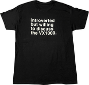 Image of SK8RATS Introverted VX1000 T-Shirt