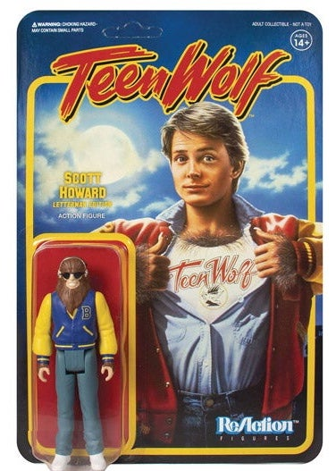 Image of Teen Wolf Letterman Edition Scott Howard Super7 ReAction Figure