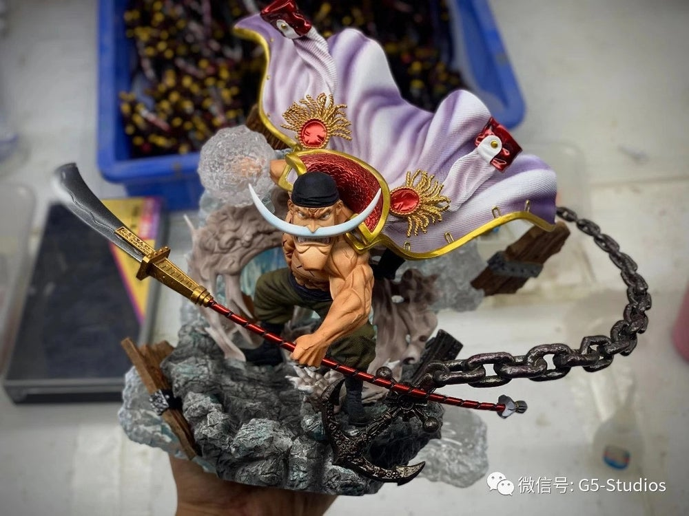 Image of [In-Stock]One Piece G5 Studio Whitebeard Resin Statue