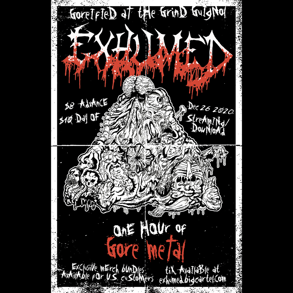 Image of Goreified at the Grind Guignol Poster / show ticket