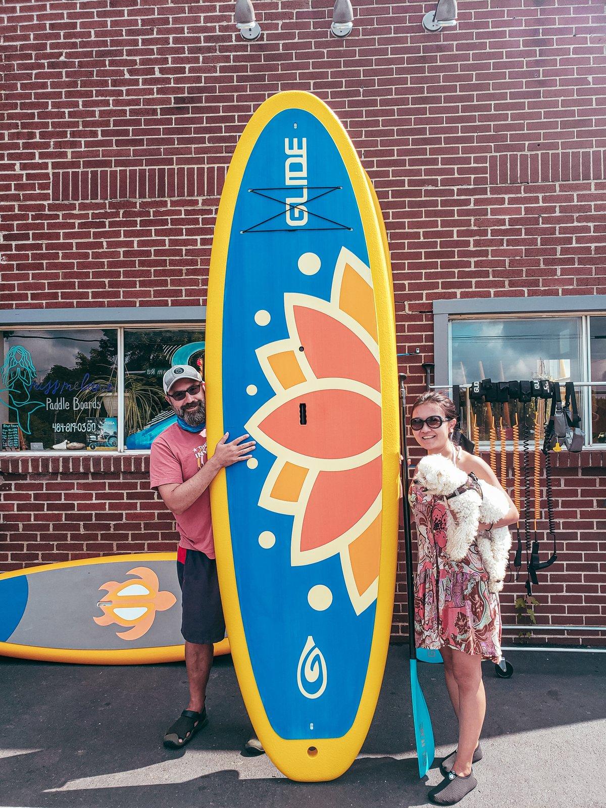 Yoga Paddleboard by GLIDE ( Hard Board)