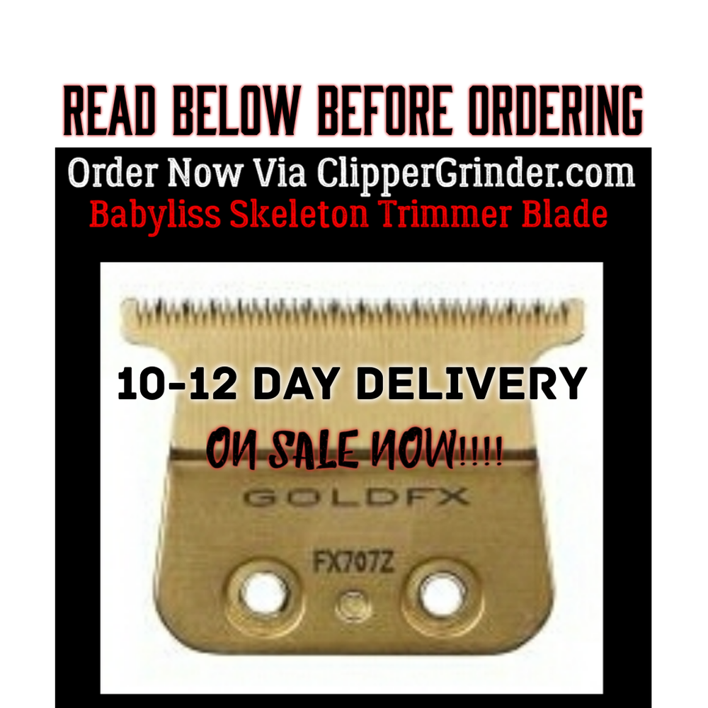 "Image of (10-12 Day Delivery/Expedited) ""Modified"" Babyliss FX Skeleton Trimmer Blade"