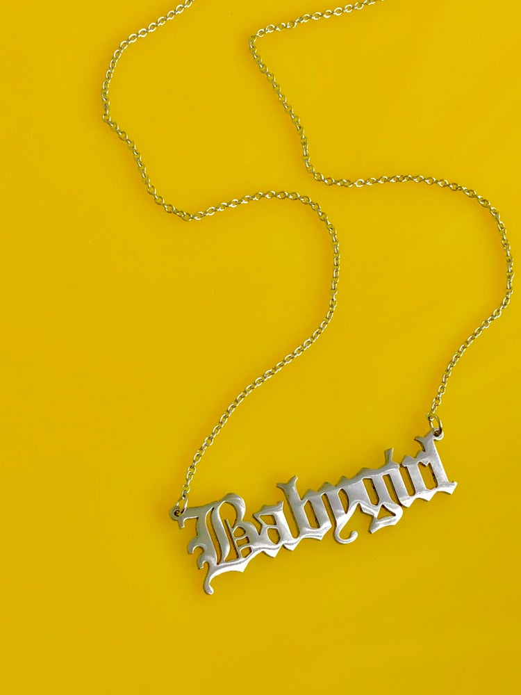 Image of READY TO SHIP - BABYGIRL PENDANT