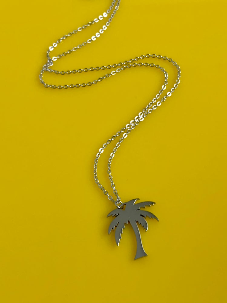 Image of PALM TREE PENDANT