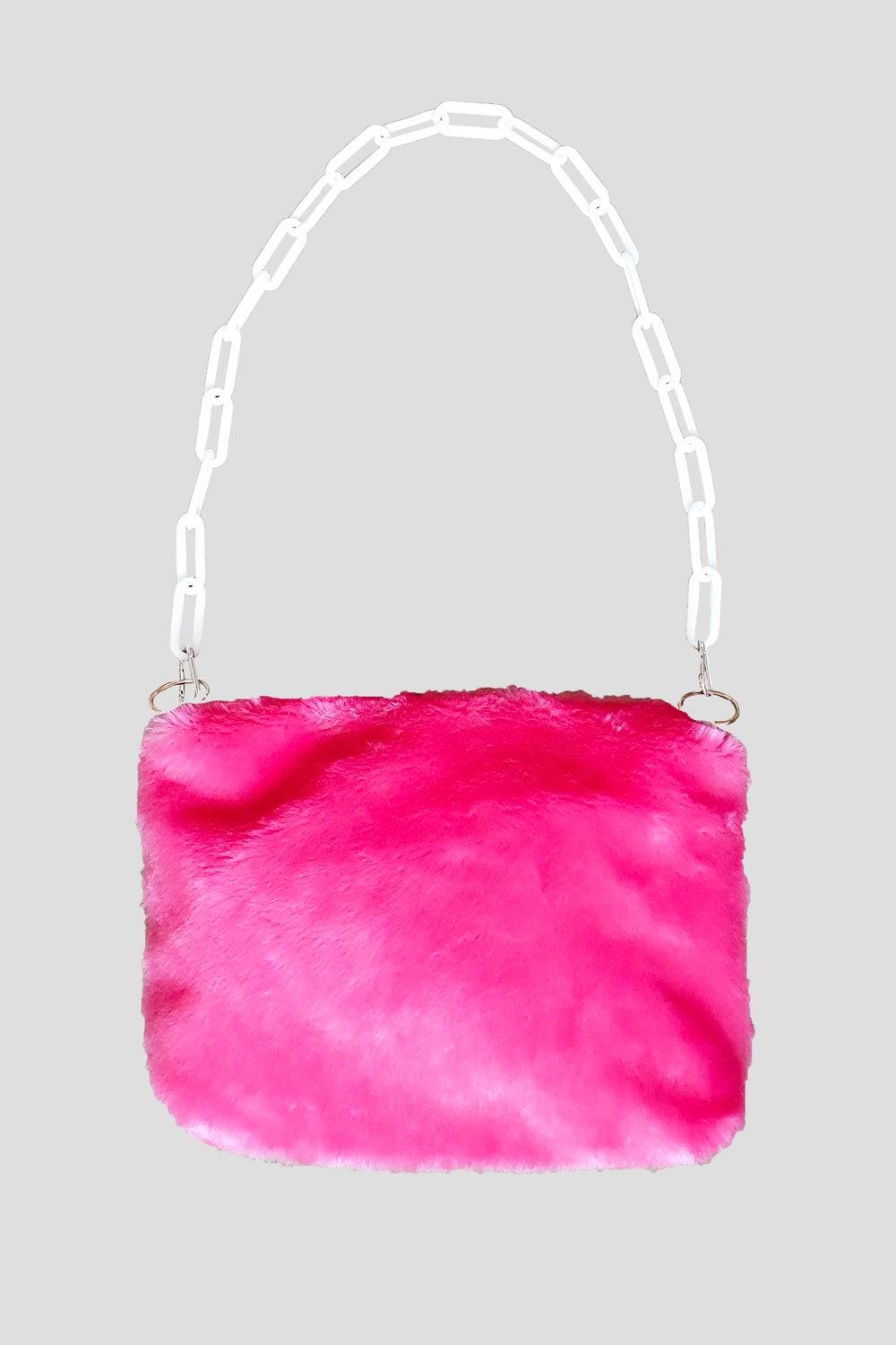 Image of Pink Fluffy Purse