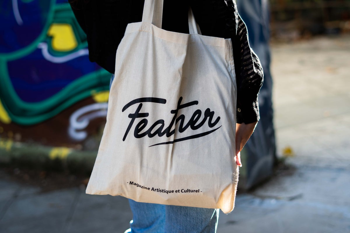 Image of Tote Bag Feather