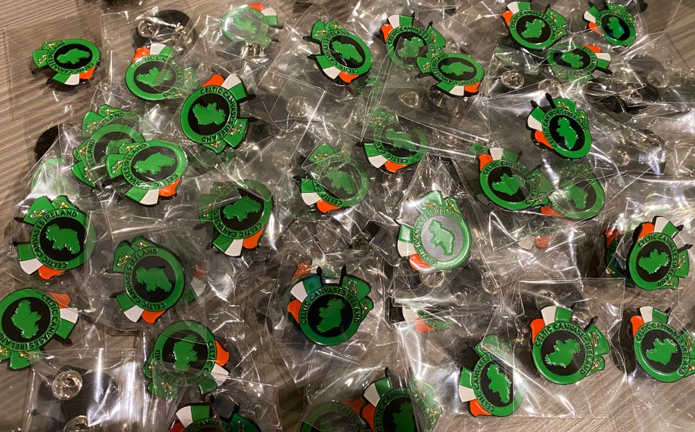 Celtic Canvases Pin badge