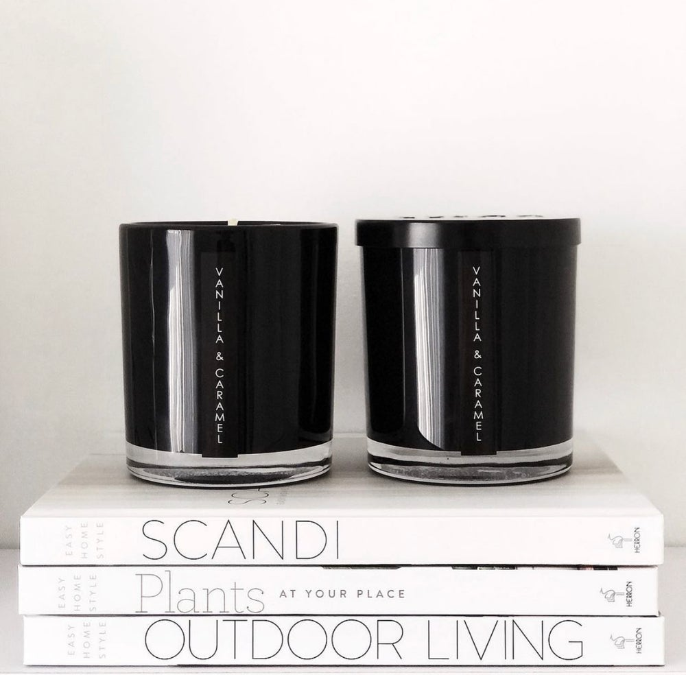 Image of BLACK X LARGE OXFORD CANDLES