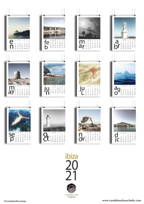Image of Calendario 2021 Ibiza & Formentera