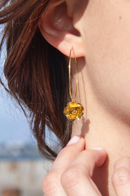 Image of Boucles d'oreilles Aster