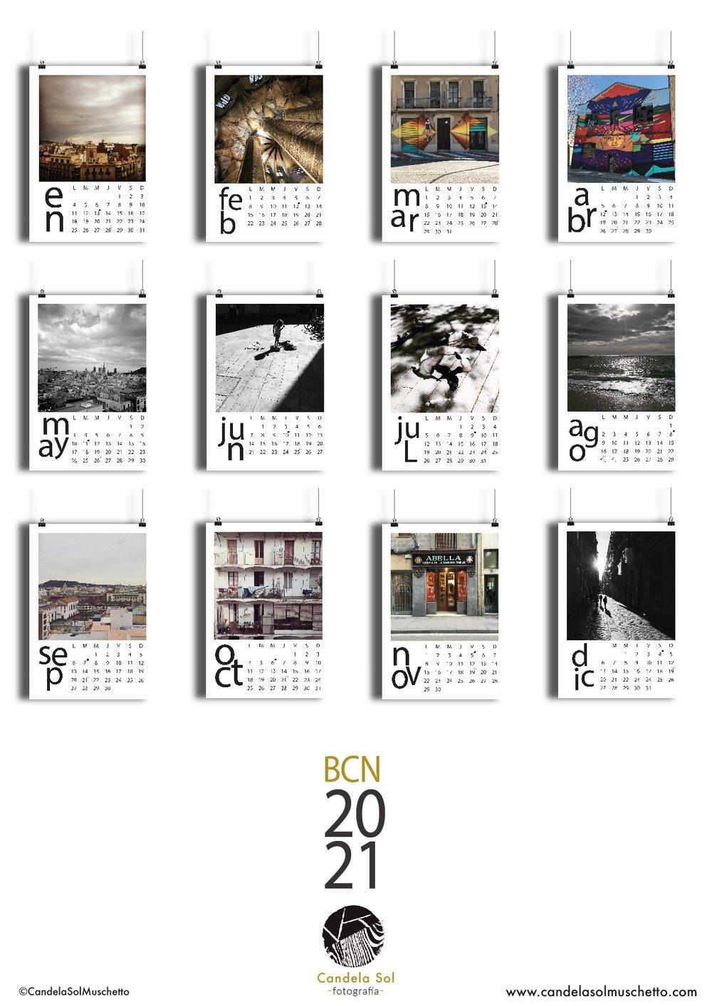Image of Calendario 2021 Barcelona