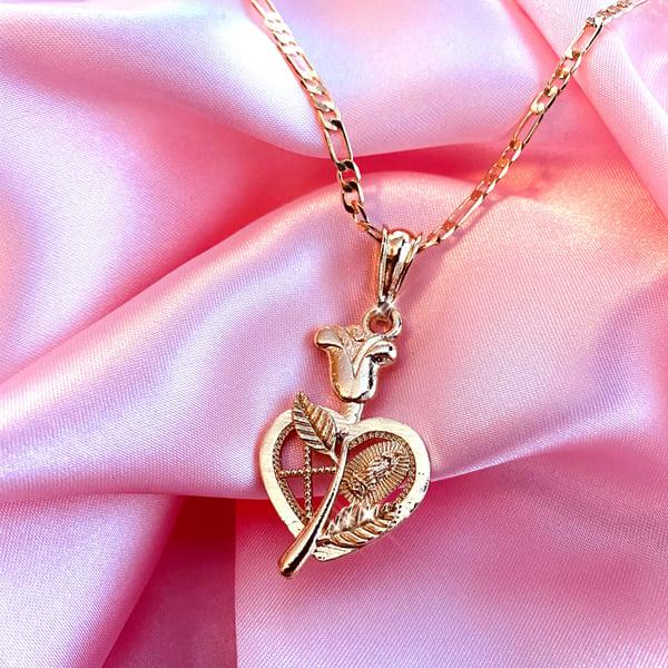"""Image of Virgencita """"Darling Baby"""" Necklace"""