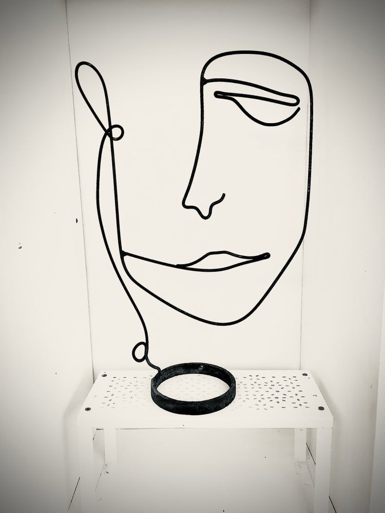 Image of Steel drawing #1 First Collection