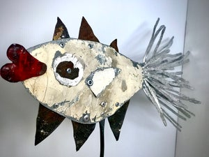Image of Fish Sculpture #1
