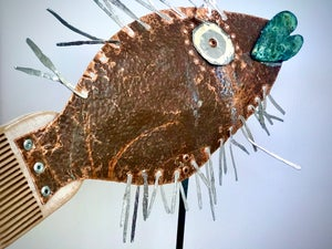 Image of Little Fish Sculpture # 2
