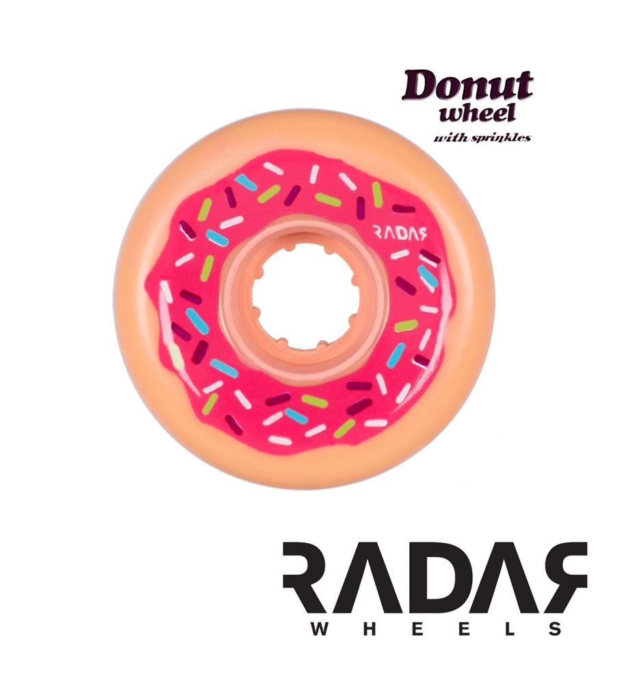 Image of Radar Donut Wheels - 62mm / 78a