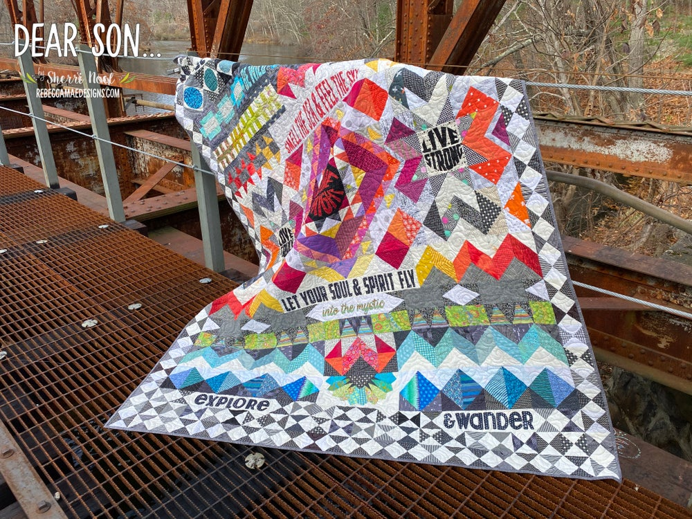 Image of Dear Son - PDF Block of the Month