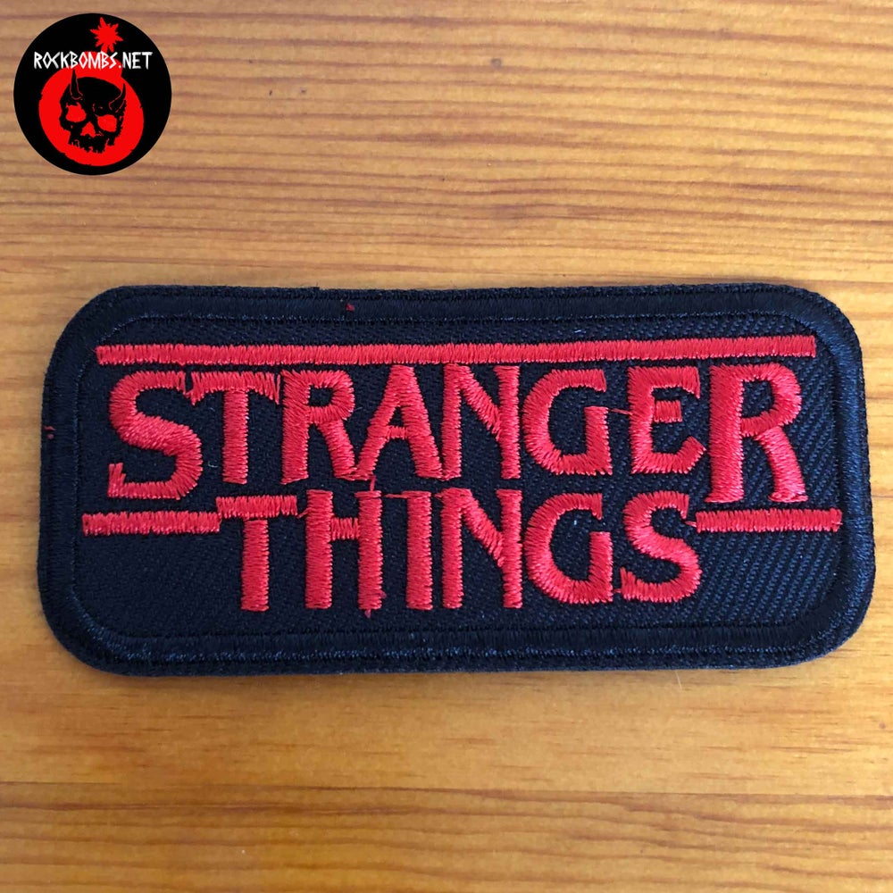 PATCH STRANGER THINGS
