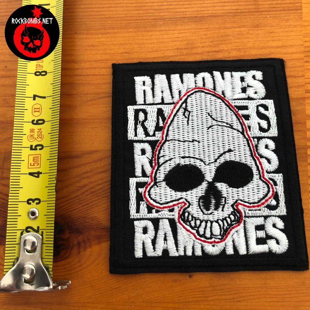 PATCH RAMONES SKULL