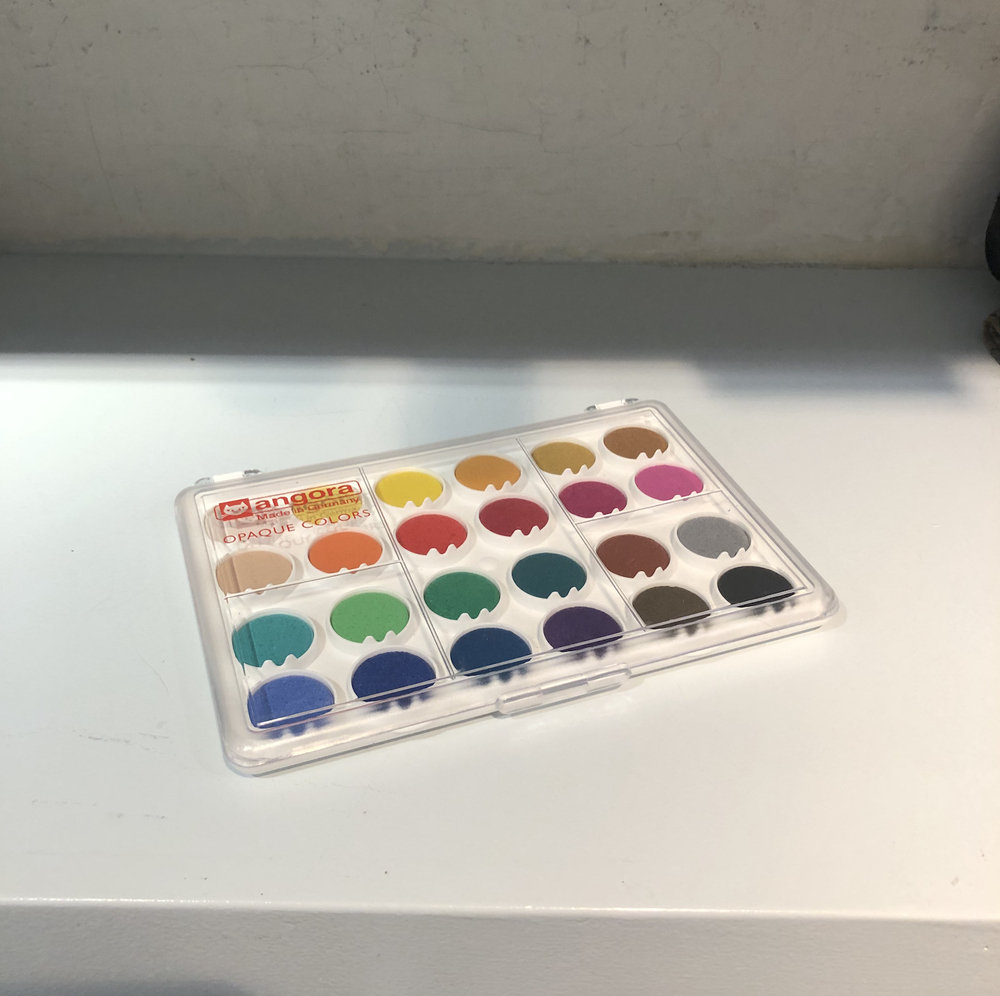 Image of Water Colors and Markers