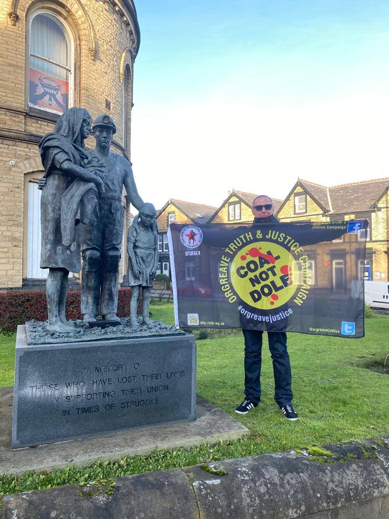 Orgreave Truth & Justice Flag/ Banner